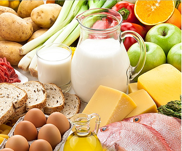 General nutritional tips for maintaining body health