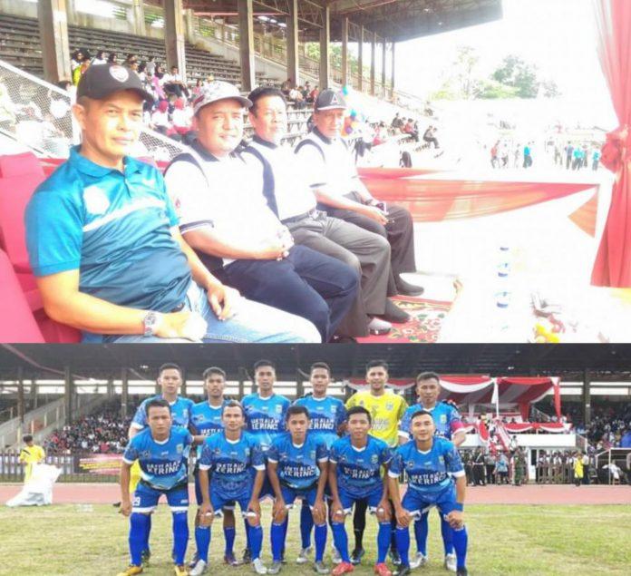 Kabag Humas Mountry Friady Wakili Bupati Kerinci Hadiri Pembukaan Gubernur Cup 2020