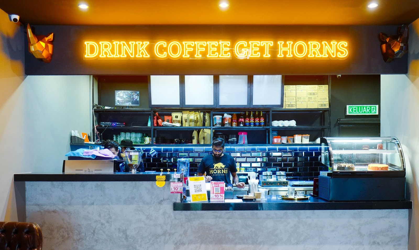 Horns Coffee, Bukit Jalil