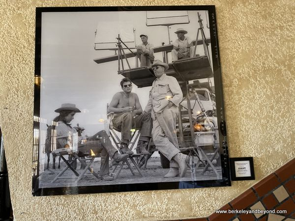 """images from """"Giant"""" set at Hotel Paisano in Marfa, Texas"""