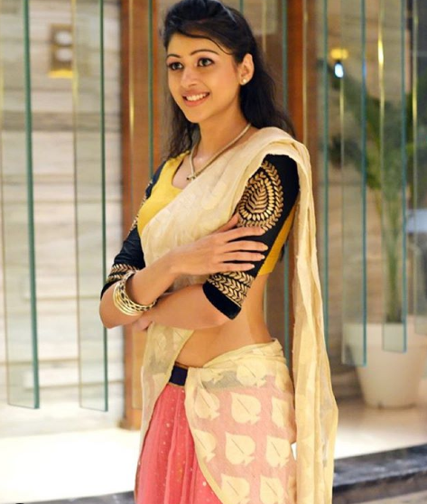 sapna in saree