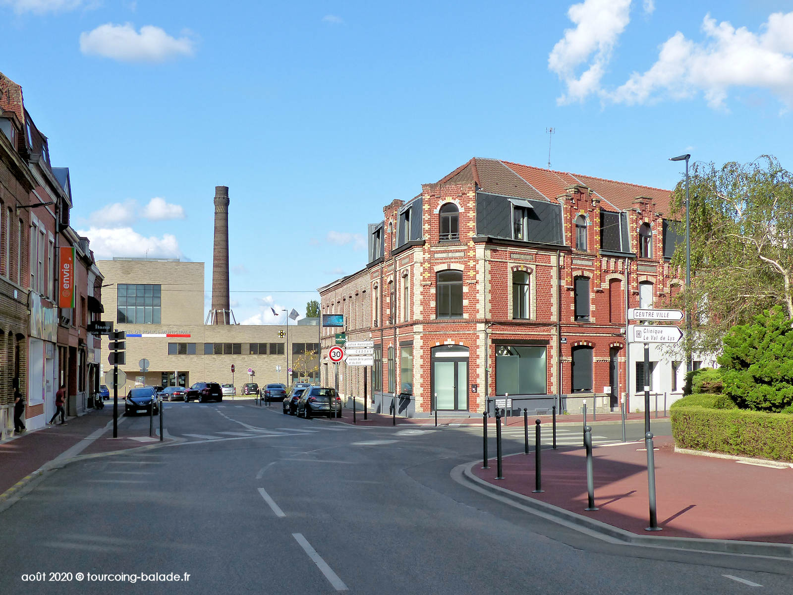Rue Jean Froissart, Tourcoing 2020 - Police municipale