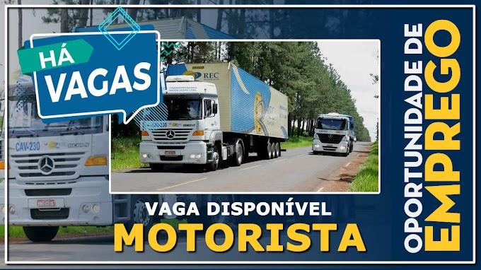 Rec Transportes abre novas vagas para Motorista