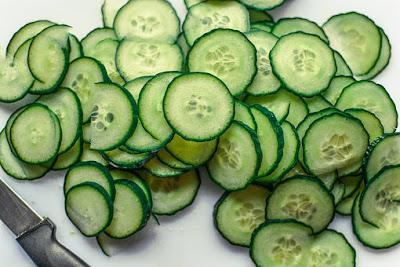 Cucumber: Remove dark circles in 7 days