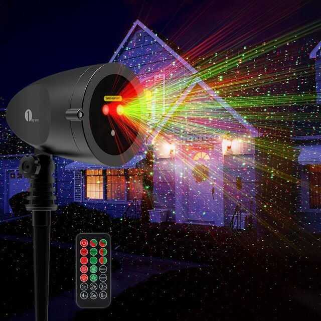 Outdoor Laser Light 1byone Christmas Giveaway
