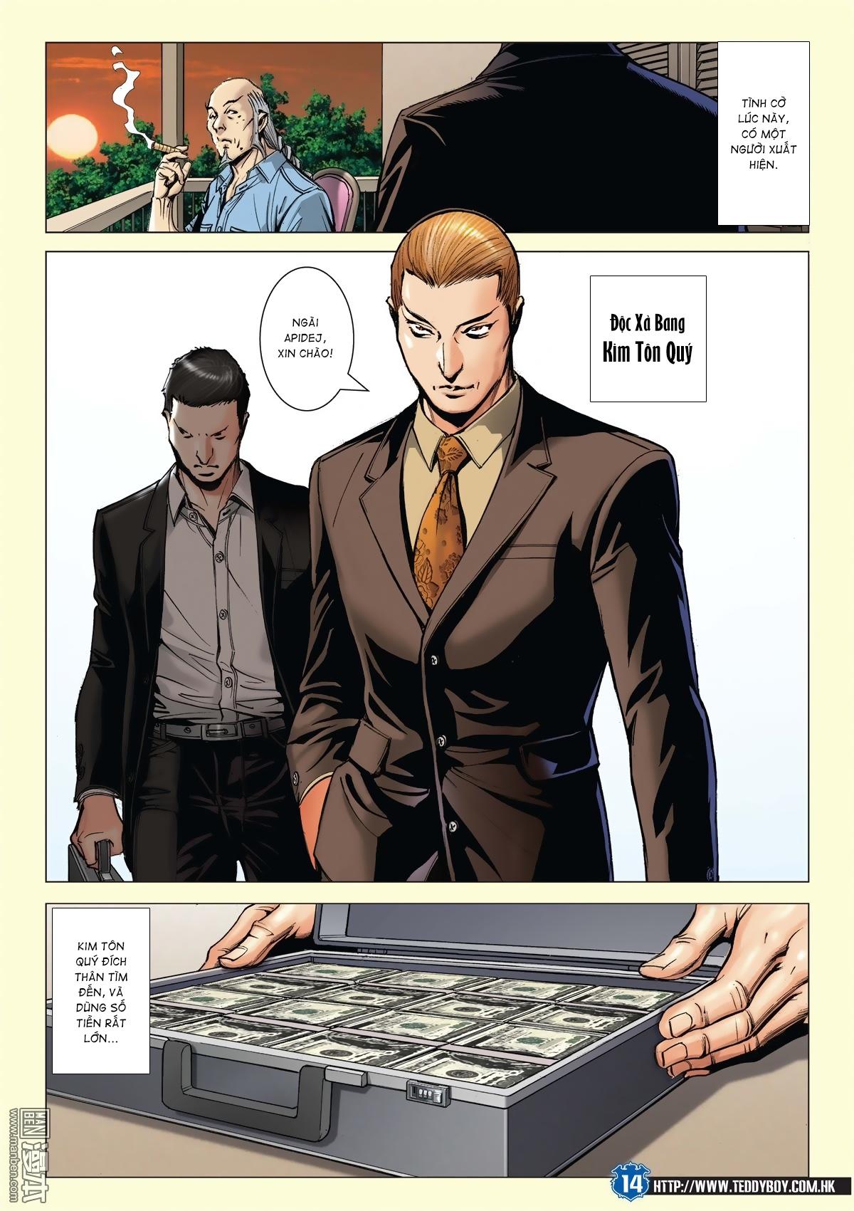 Người Trong Giang Hồ chapter 2026: khí diệm tông sư trang 13