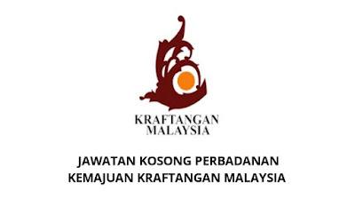 Jawatan Kosong Perbadanan Kemajuan Kraftangan Malaysia 2019
