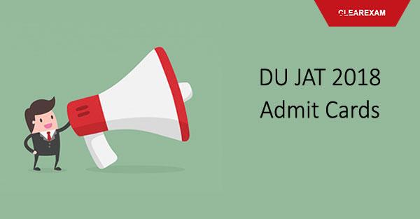 DU JAT Admit Card