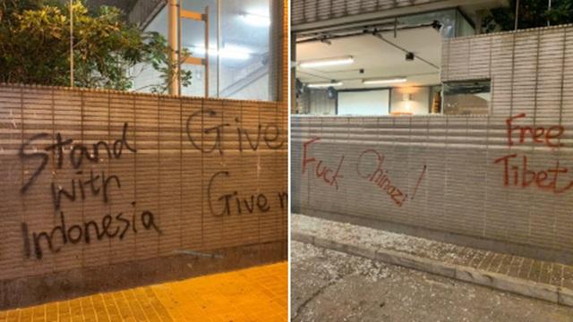 Demonstran Hong Kong Dukung Aksi Demo Mahasiswa Indonesia: Tetap Kuat!