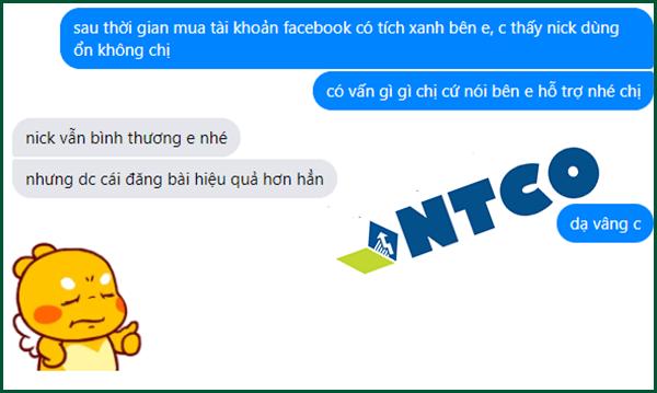 mua nick facebook tích xanh