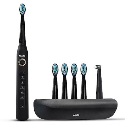 AGARO COSMIC PLUS Sonic Electric toothbrush   Best Electric Toothbrush in India   Best Electric Toothbrushes Reviews