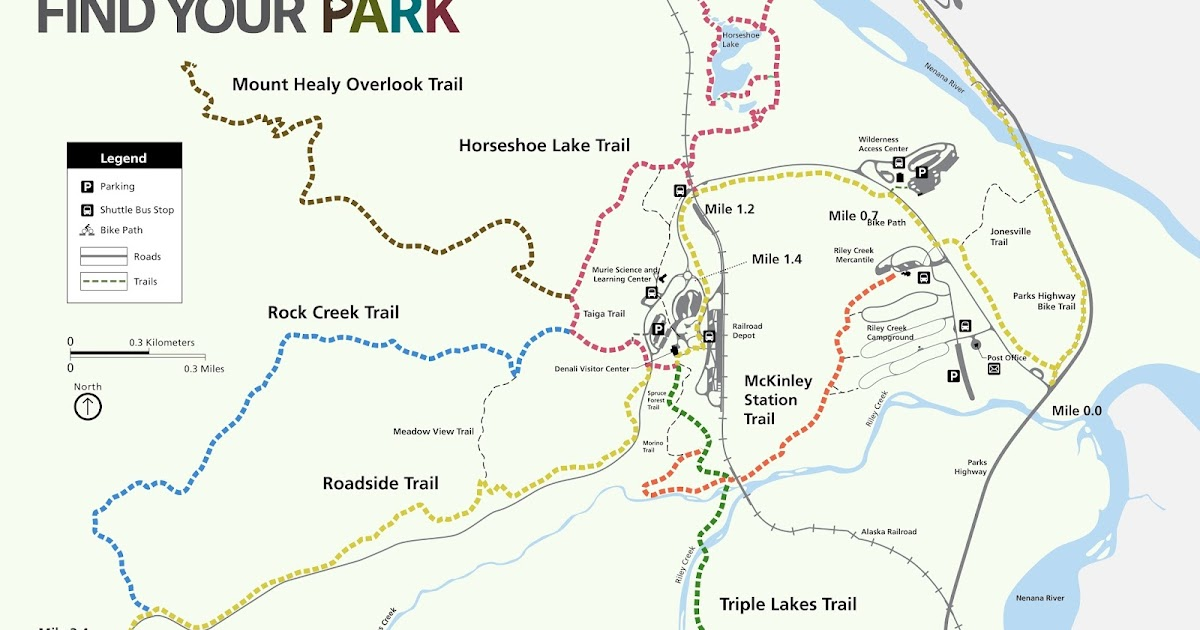 Day Hiking Trails Hike heads to former bend in subarctic river