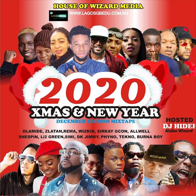 [Mixtape] DJ HIDEE XMAS & NEW YEAR MIXTAPE