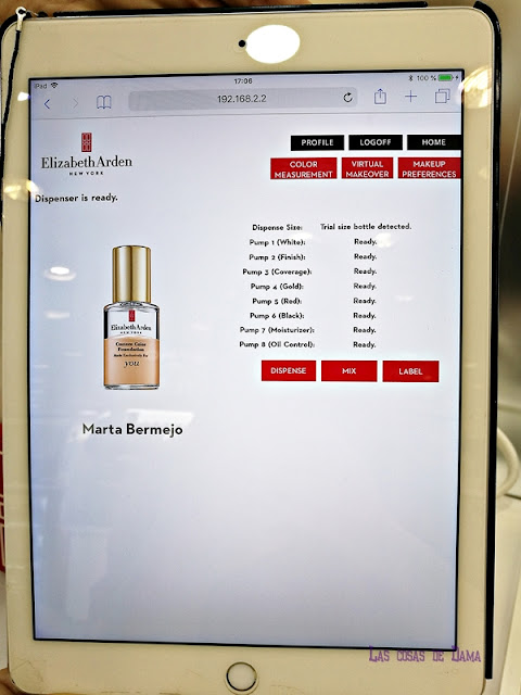 Custom Color Foundation Elizabeth Arden base makeup maquillaje personalizado belleza beauty