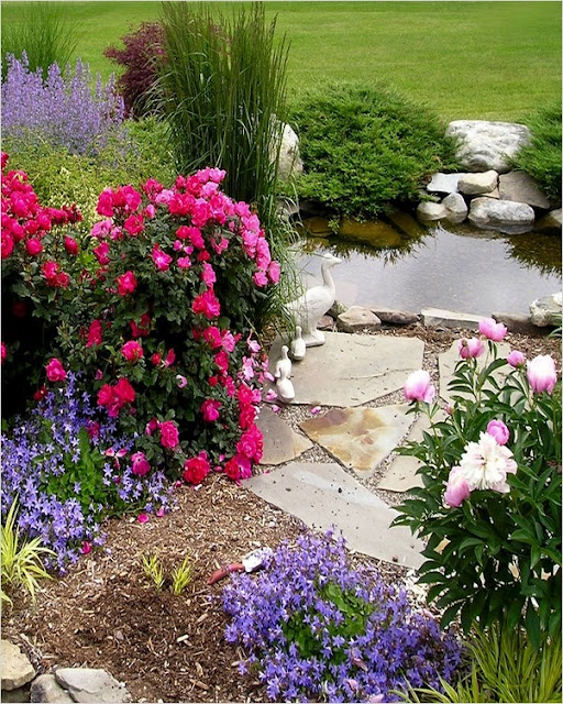 beautiful backyard flower garden designs for shade