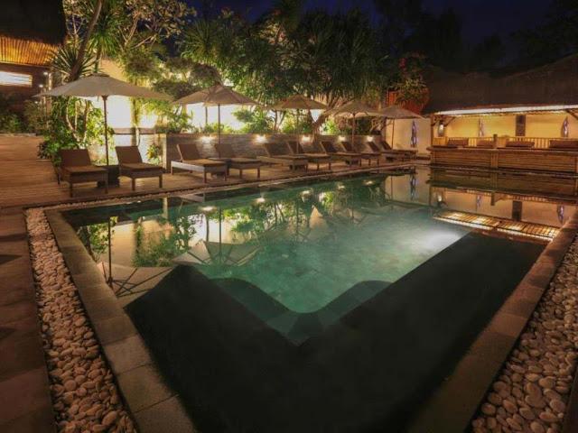 Hotel Scallywags Resort Gili Trawangan Lombok