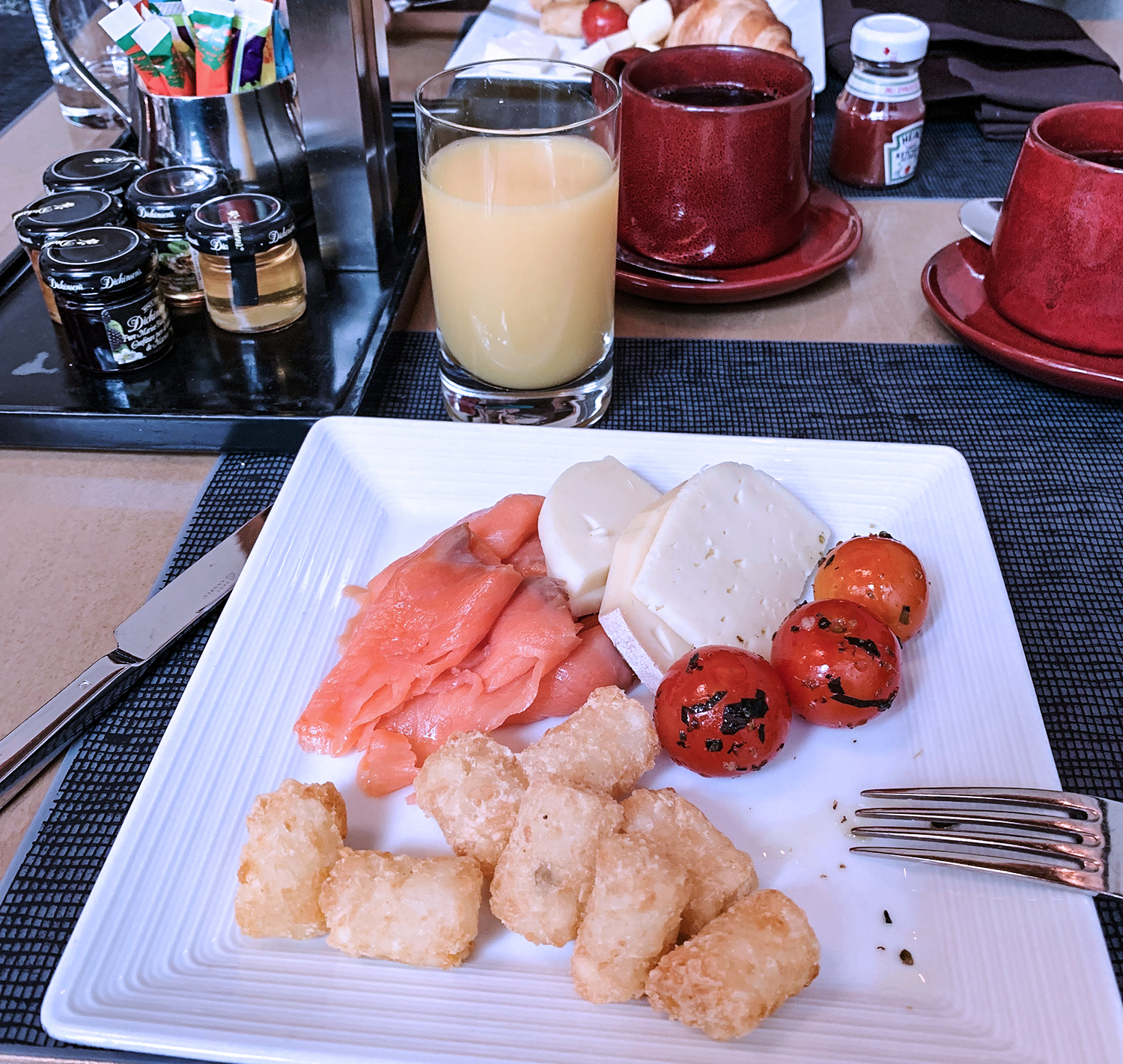 Breakfast at Westin Montreal