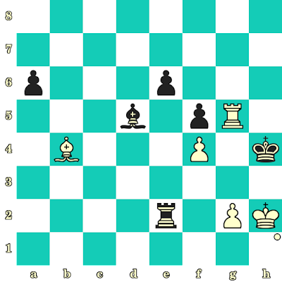 Les Blancs jouent et matent en 2 coups - Wlodzimierz Schmidt vs Heinz Liebert, Polanica Zdroj, 1967
