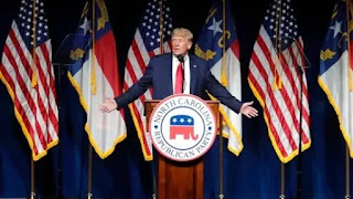 Survival folks depends on our ability to elect Republicans: Trump at North Carolina