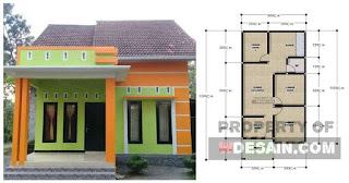 Rumah Minimalis 6x12 Tampak Depan - DESAIN RUMAH MINIMALIS