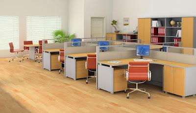 Nội thất văn phòng Fami chuyên nghiệp và hiện đại