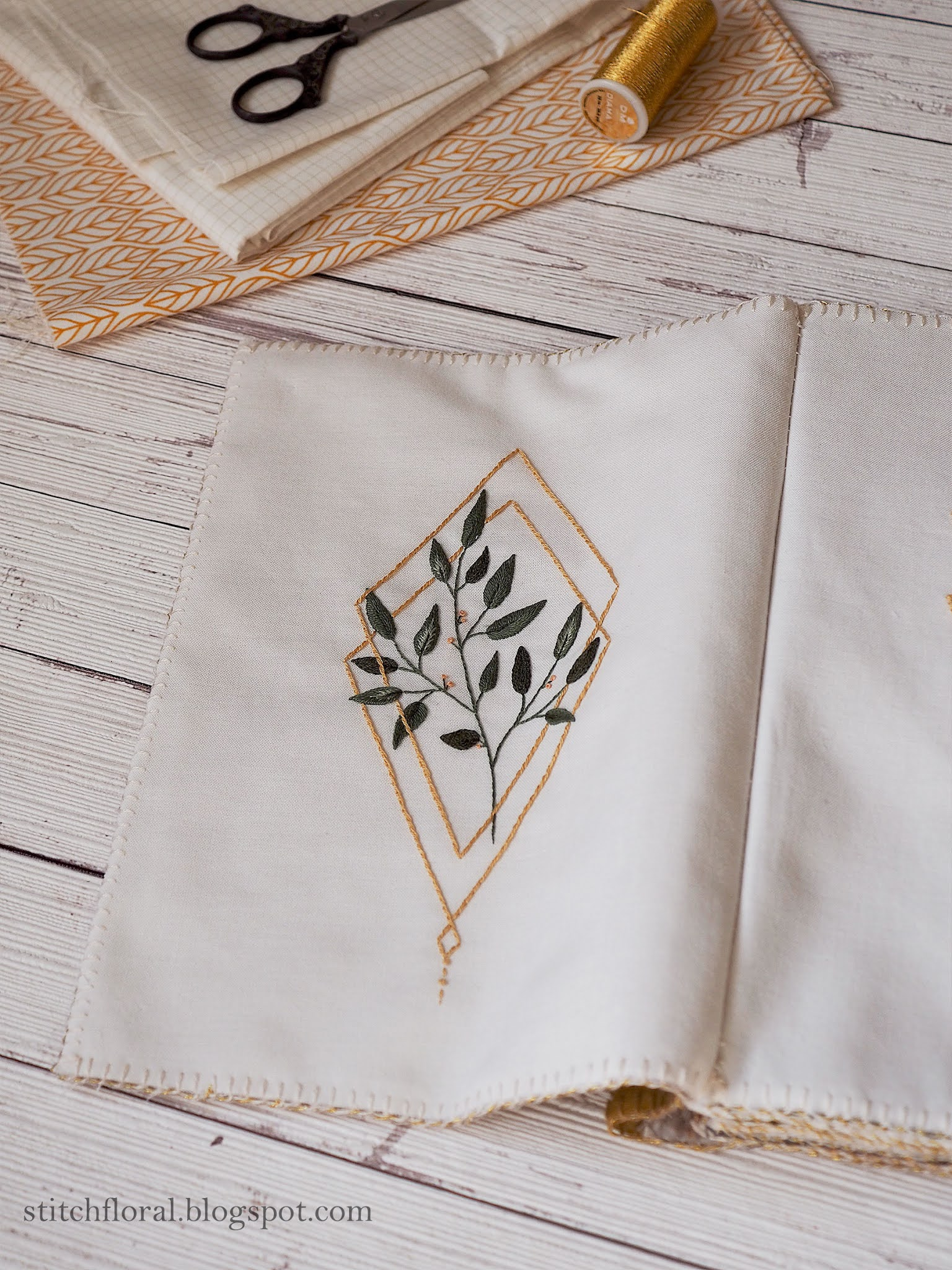 embroidery journal
