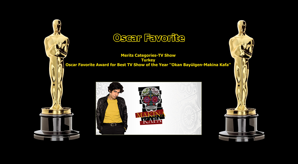 oscar favorite best tv show of the year turkey award okan bayulgen makina kafa