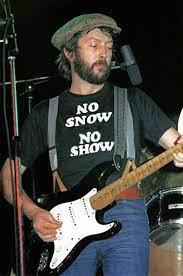 Eric Clapton 'No Snow No Show' t-shirt cocaine.  PYGear.com