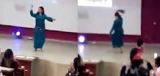 """مصدر مسؤول يكشف تفاصيل رقص """"الشعبي"""" داخل كلية العلوم القانونية  بالمحمدية"""