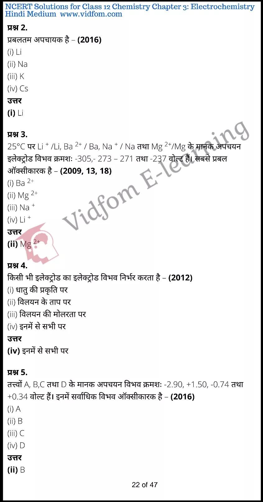 class 12 chemistry chapter 3 light hindi medium 22