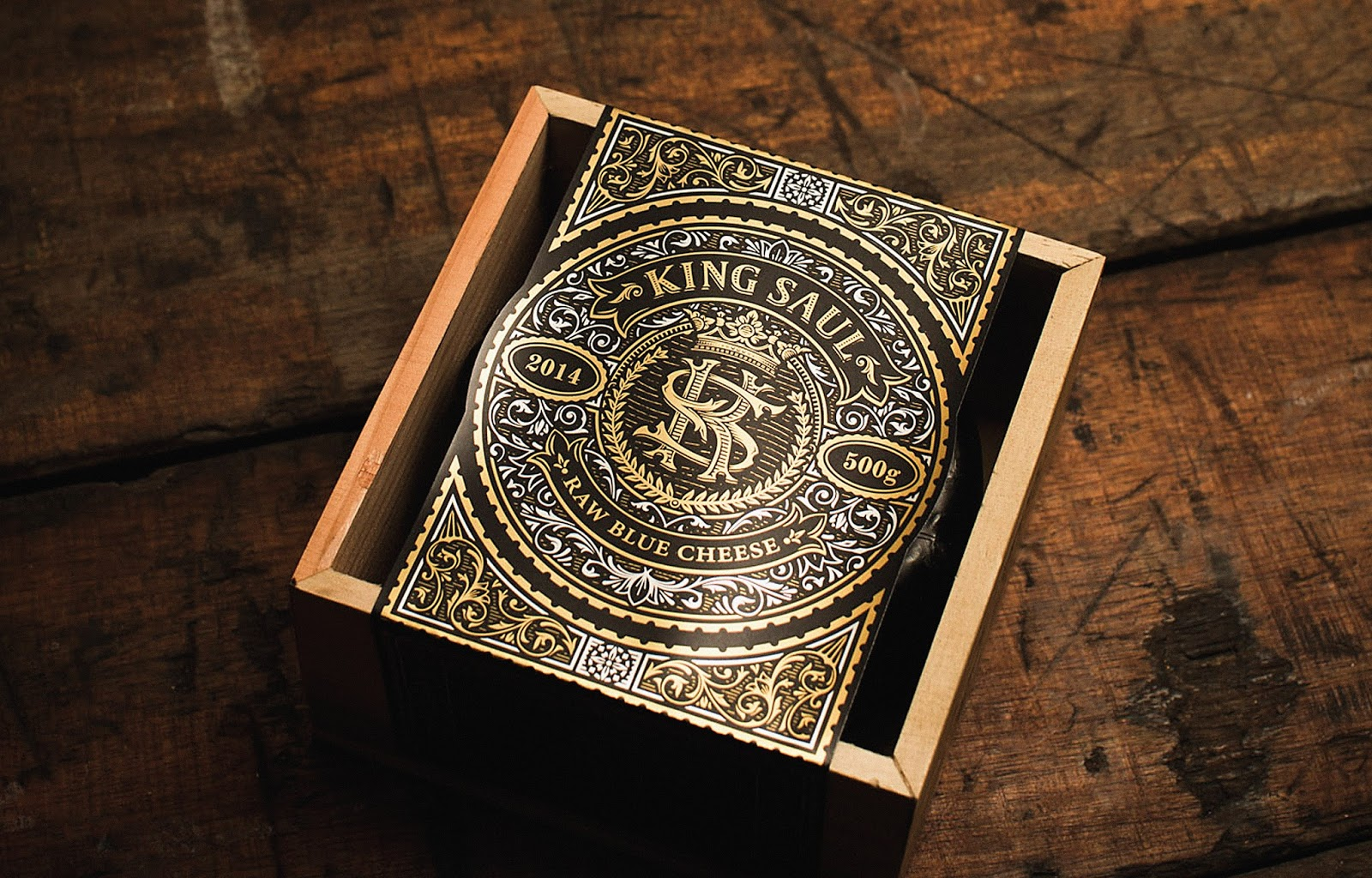 King Saul On Packaging Of The World Creative Package
