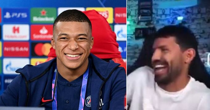 Aguero taunts Real Madrid for failing to sign Mbappe