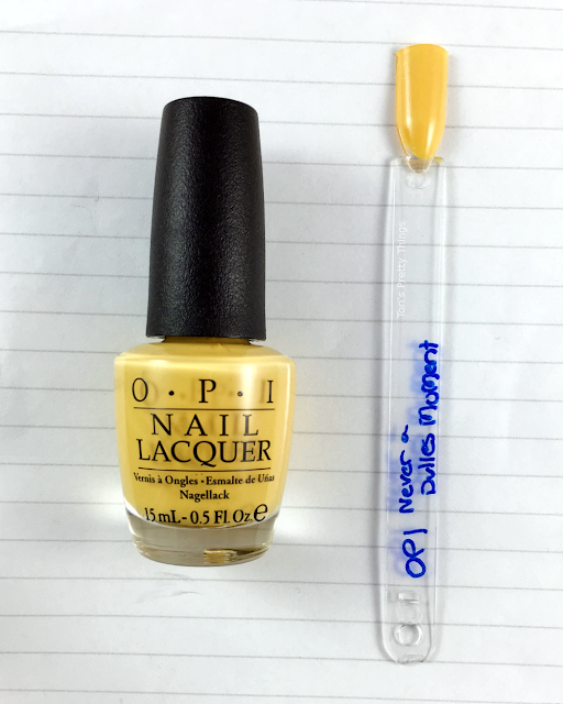 Tori's Pretty Things// OPI Never a Dulles Moment Swatch