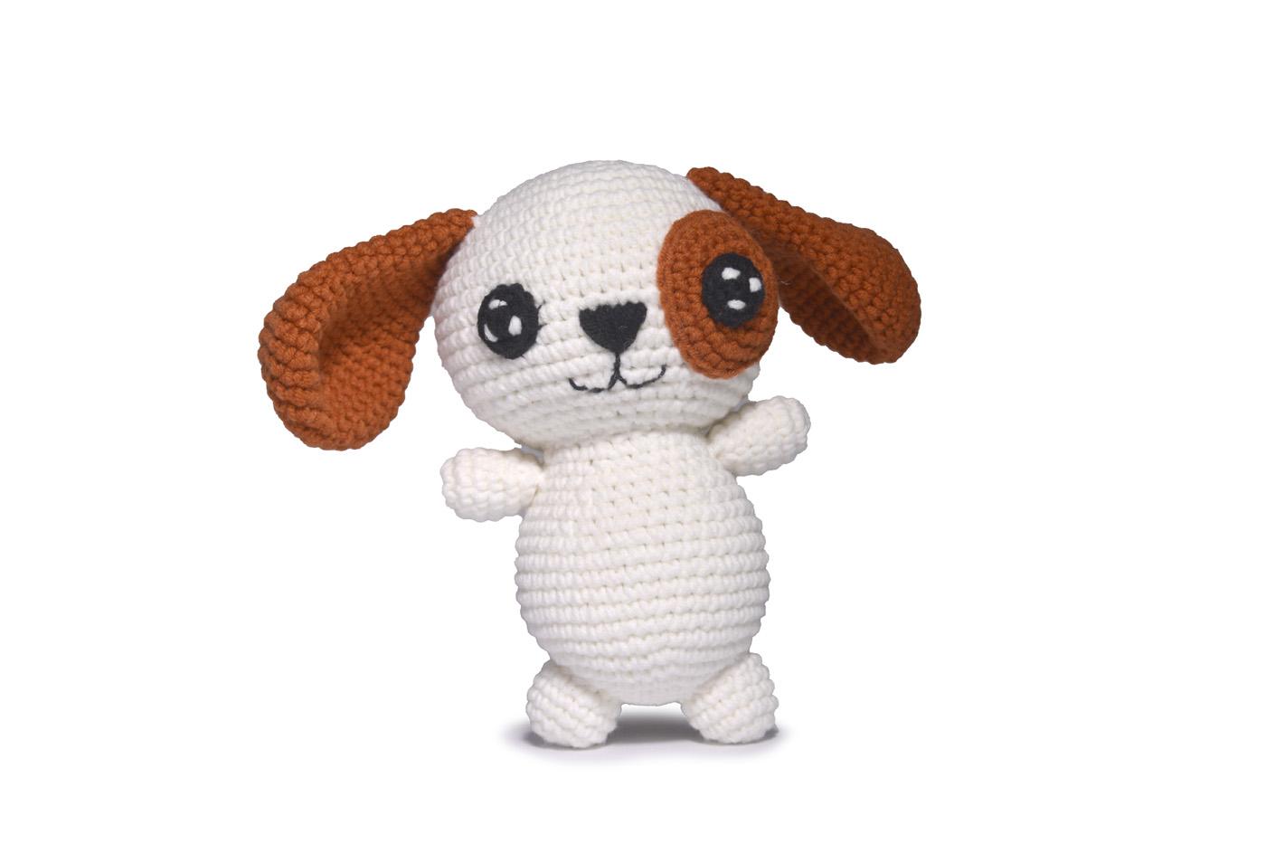 Receita Cachorro Amigurumi