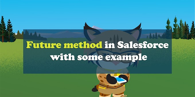 Future method in Salesforce with some example