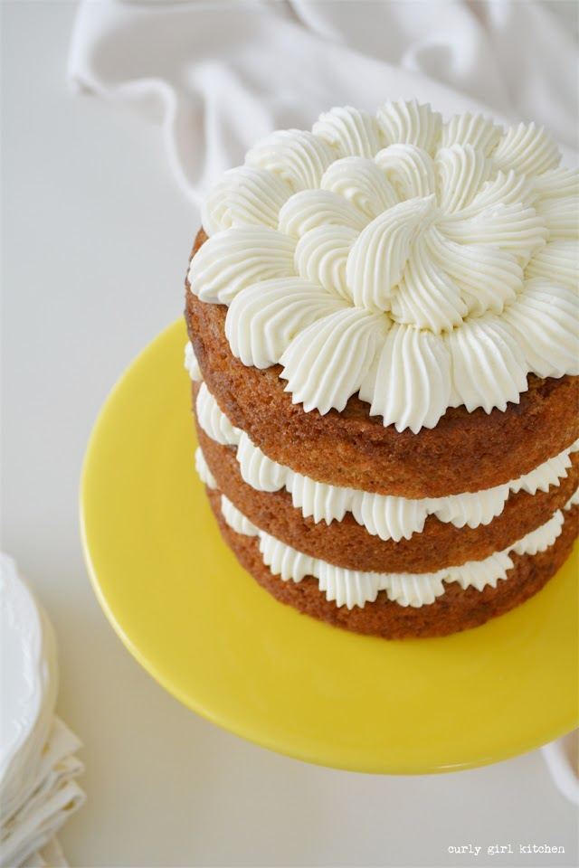 Carrot Cake, High Altitude Carrot Cake, Carrot Cake with Cream Cheese Frosting, Cream Cheese Frosting Recipe, Cream Cheese Buttercream Recipe, High Altitude Cake Recipes, Naked Cake