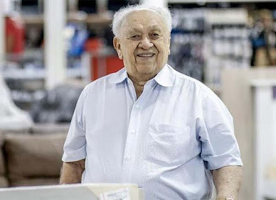 Morre aos 89 anos o empresário João Claudino; velório será restrito