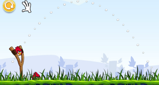 Mahir bermain Angry Bird dengan fisika a.k.a Projectile Motion