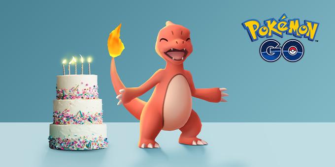 Pokémon GO - Aniversário de 5 Anos