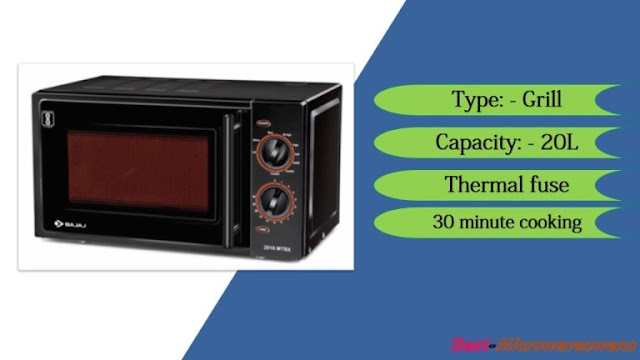 Bajaj MTBX 2016 Black / best microwave oven