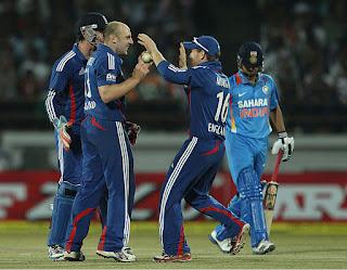India vs England 1st ODI 2013 Highlights