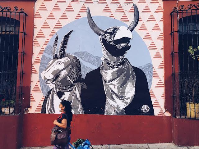 Street art Oaxaca City