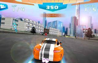 carrera rapida 3d coche carreras