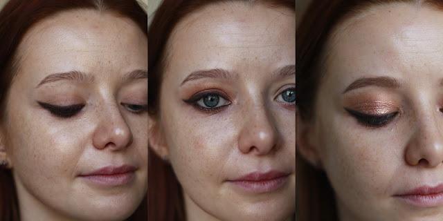 Łatwy makijaż z kreską