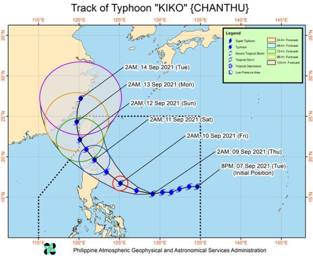 'Bagyong Kiko' PAGASA weather update