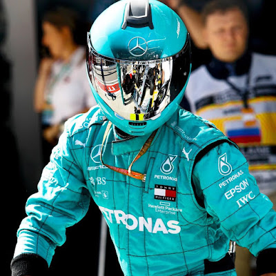 Mercedes AMG F1 team helmet