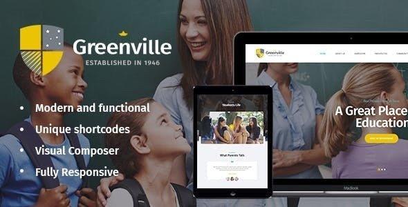 Greenville v1.3.0 - Chủ đề WordPress của trường tư thục