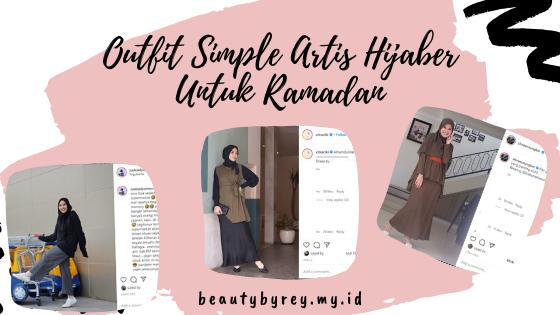 ide outfit simple dan nyaman untuk ramadan