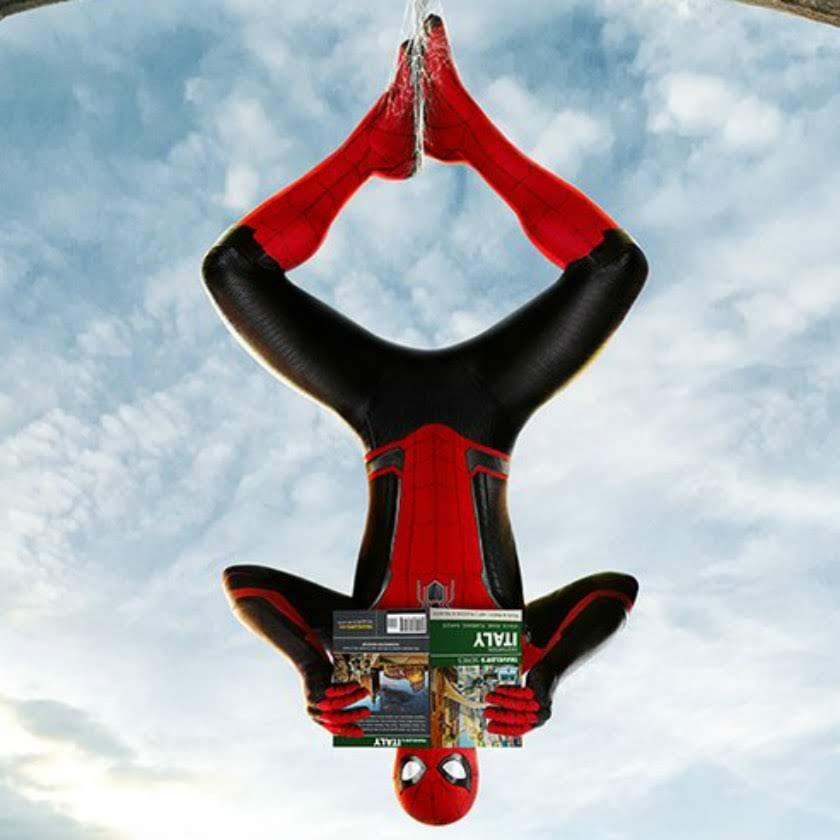 Spider-Man Far From Home :トム・ホランドの少年ヒーローが旅に出る「スパイダーマン」シリーズ第2弾の最新作「ファー・フロム・ホーム」が、ヨーロッパの観光名所を巡る計3点の新しいポスターをリリース ! !