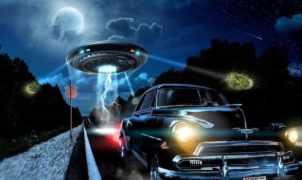 Η Τρομακτική Καταδίωξη ενός Άντρα από ένα UFO